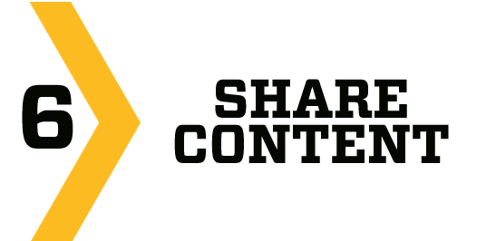 6. share content